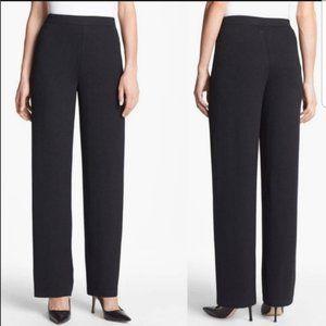 St John Basics Santana Knit Wide Leg Pants Size 2